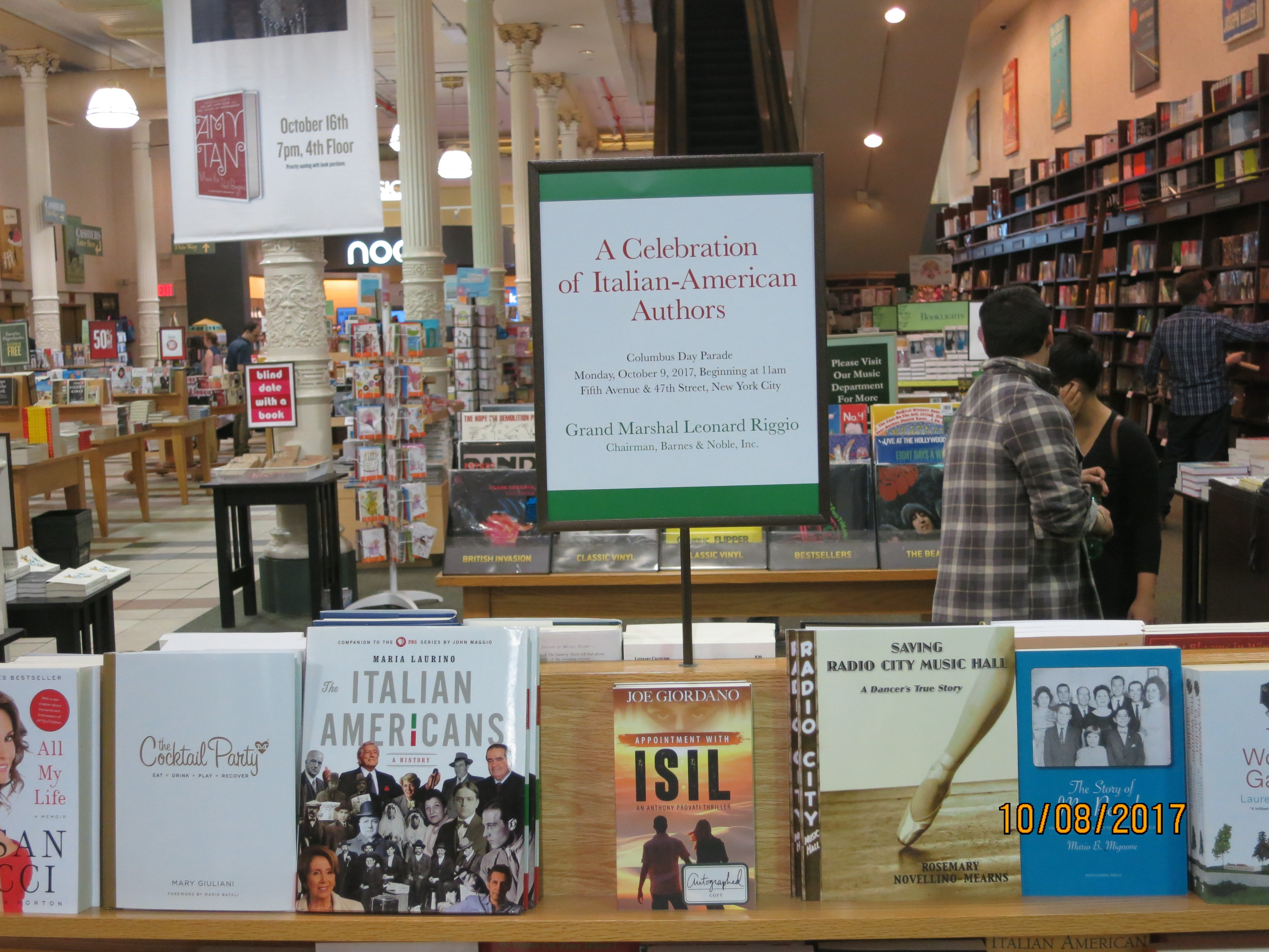 Appointment with ISIL Reading at Barnes Noble Joe Giordano